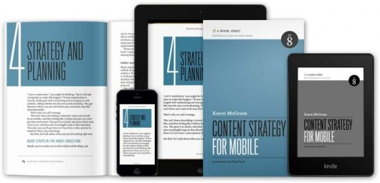 """""""Content Strategy for Mobile"""" by Karen McGrane"""