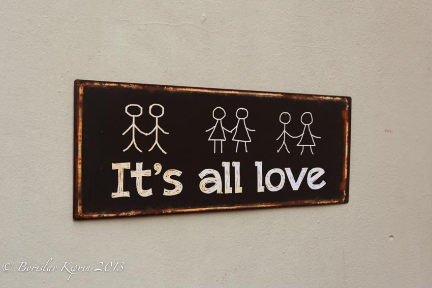 It's all love