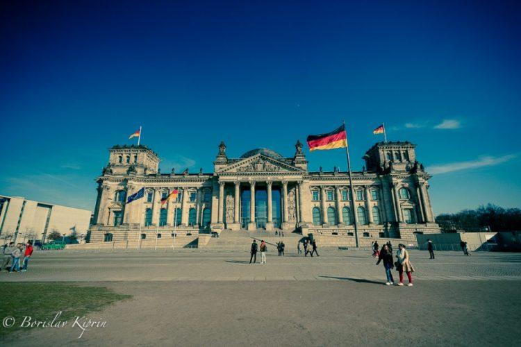 Dem Deutschen Volke - Reichstag building