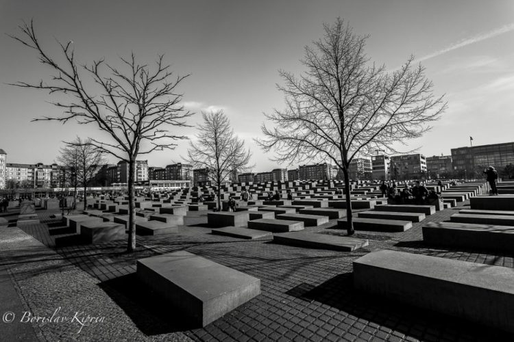 Silence - Memorial to the Murdered Jews of Europe