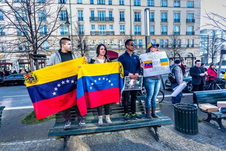 Venezuela fights, too.