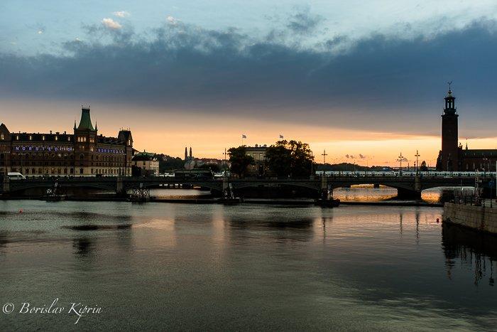 Stockholm dusk