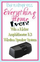 Win a Kicker Amphitheater K3 Wireless Speaker System