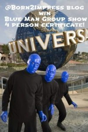 Blue man pinterest