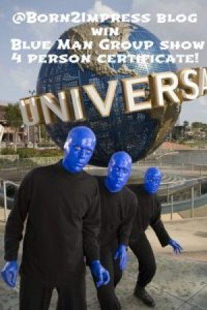 Blue man pinterest