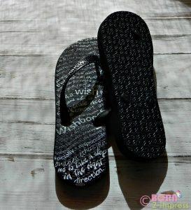 Wishbone sandals Both Sides