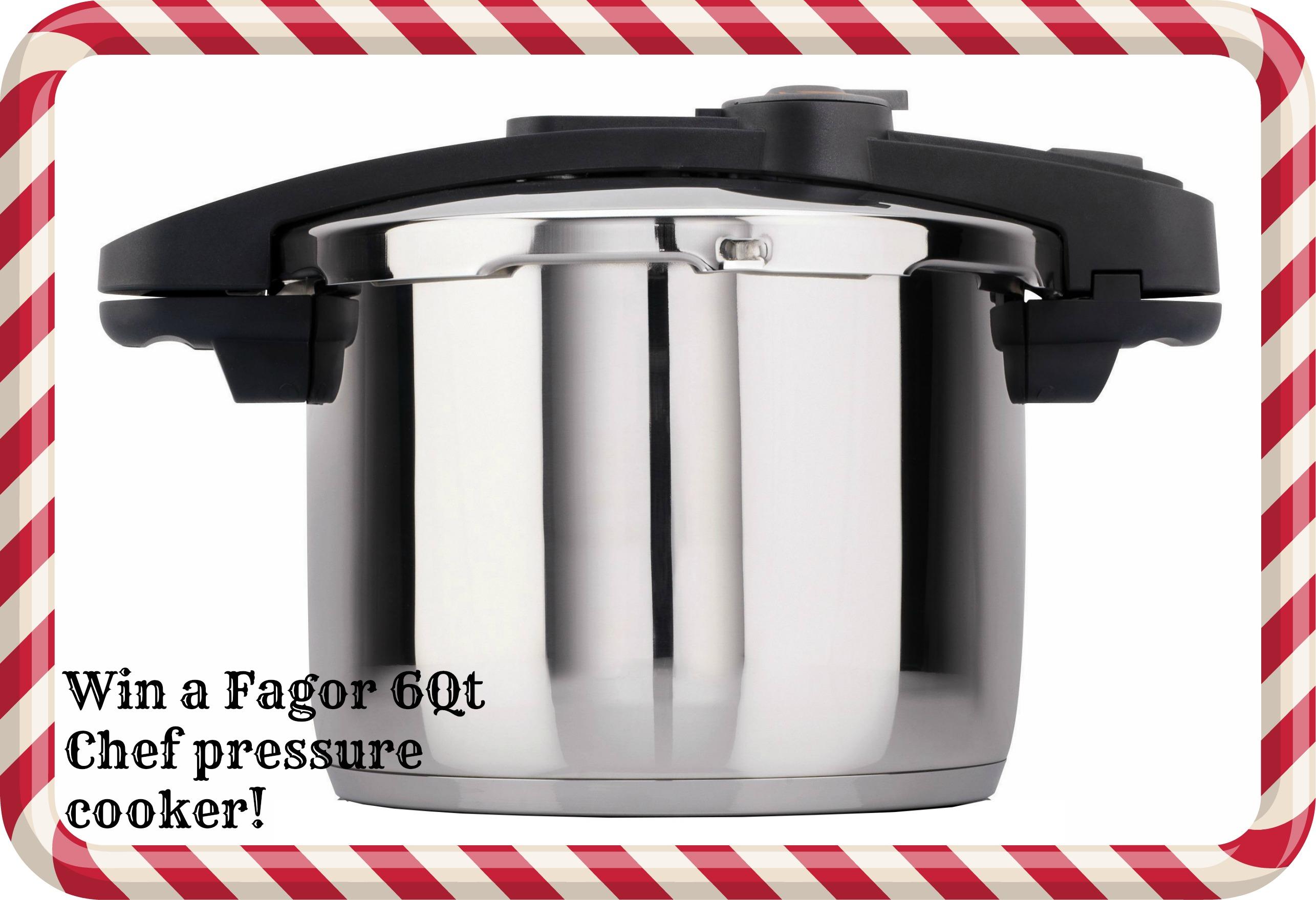 Fagor 6Qt. Chef Pressure cooker 12/20/14