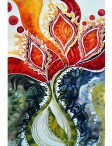 Pamba Toto Tulipi Painting