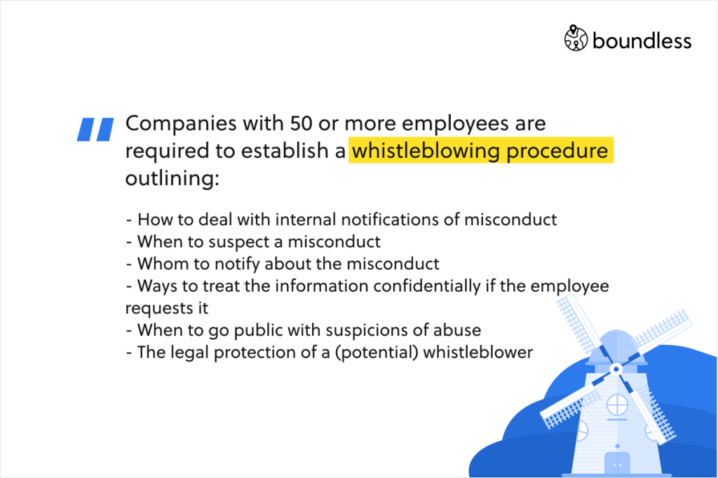 Whistleblower protection in The Netherlands
