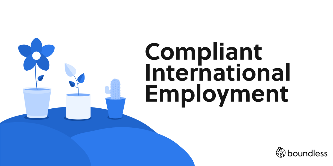 compliant internationally remote employment