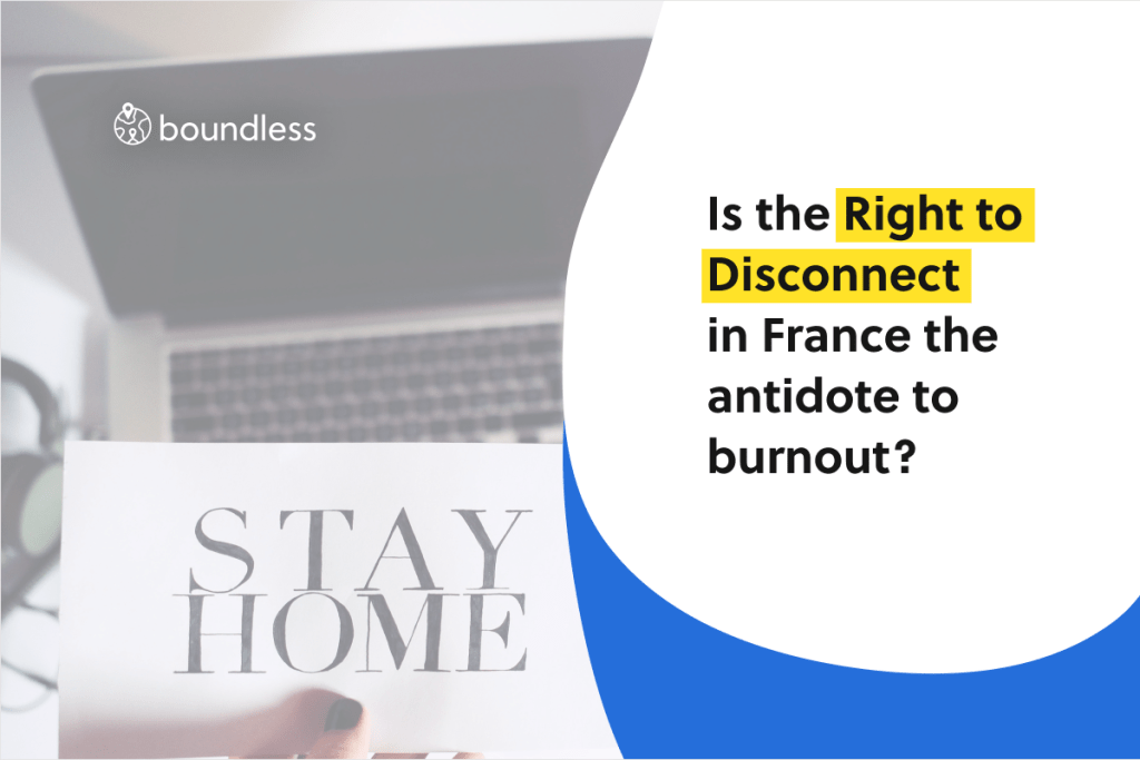 is the right to disconnect the antidote to burnout