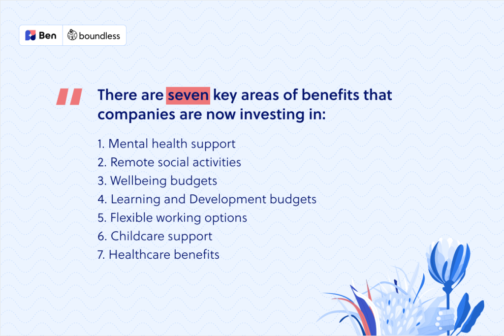 key focus areas for UK benefits
