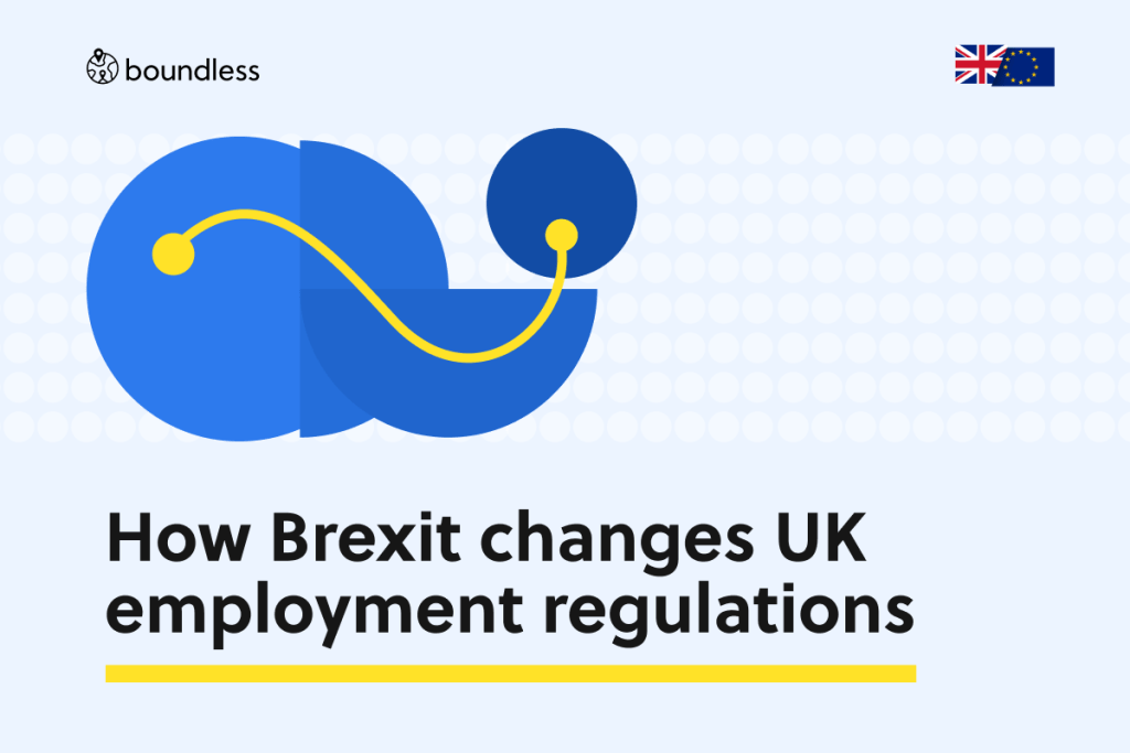 How Brexit changes UK employment regulations
