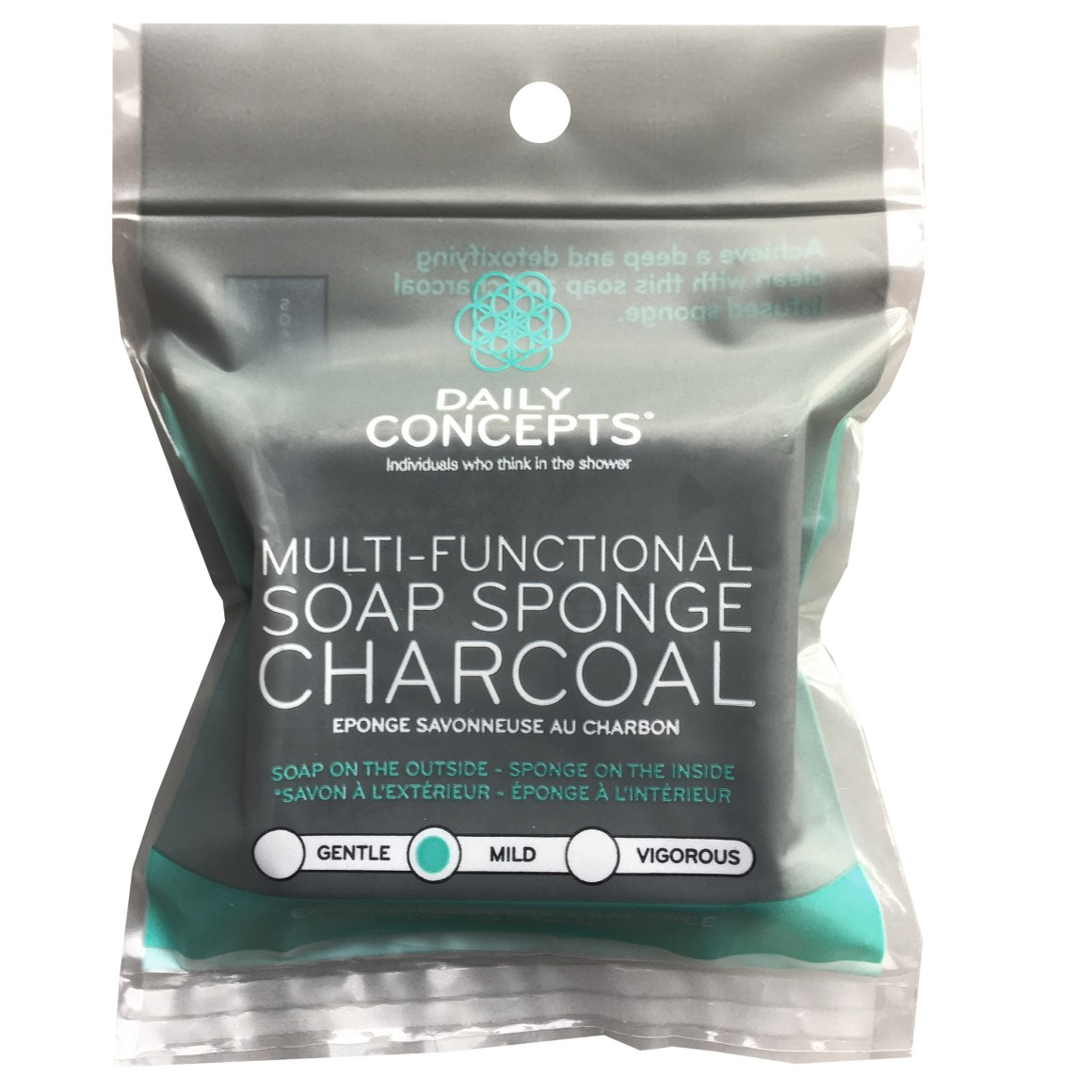 Daily Concepts – Multifunctional Charcoal Soap Sponge