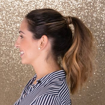 How to Style a Textured Ponytail Using IGK Products