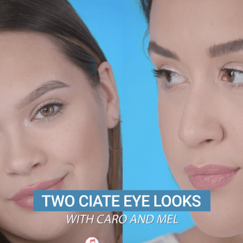 Try These Quick and Easy Eye Looks Using Ciaté's New Eye Lustre Glitter Cream-Liquid Eyeshadow