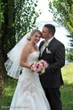 Der Hochzeitsfotograf in der Schweiz. Hochzeitsfotos am Zürichsee, auf der Halbinsel Au.