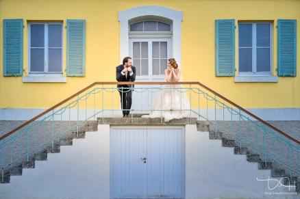 Modern wedding photography! Brautbilder von heute macht der Hochzeitsfotograf aus Nuernberg in der Orangerie Ansbach.