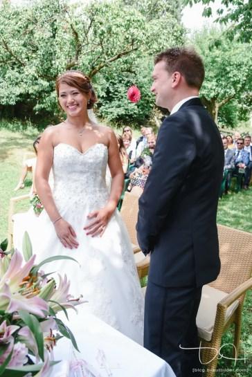 Das Jawort fotografiert euer Hochzeitsfotograf aus Nuernberg.