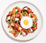 Sweet Potatoes and Eggplant w/ Tahini Sauce and Feta Meal Prep Brava Oven Recipe
