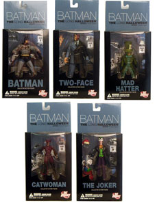 Batman: Long Halloween figure set