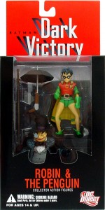 Batman: Dark Victory Robin and Penguin package