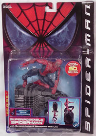 Spider-Man movie superposeable in package