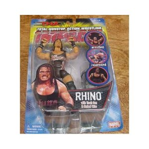 tna iMpact Rhino figure in package