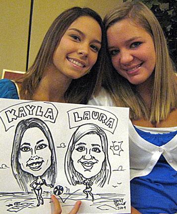 Kayla and Laura