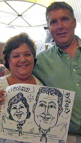 Susan and Gary