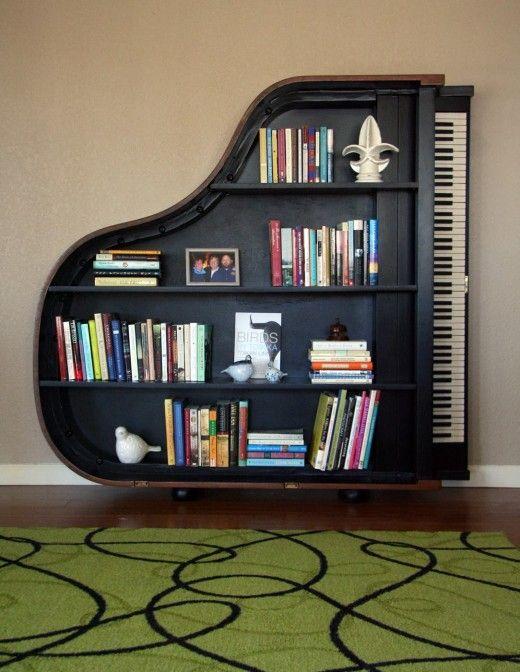 piano shelving