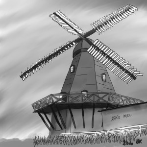 Draw A Windmill - Sketch 28