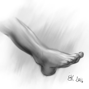 How to Draw A Foot - Sketch 31