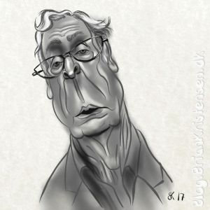 How to Draw Michael Caine Caricature  - Sketch 91