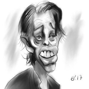 How to Draw carikature of Steve Buscemi - Sketch 72