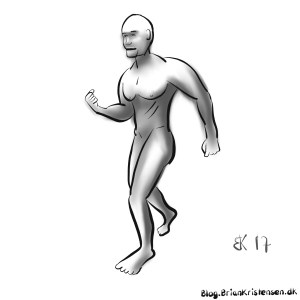 How to Draw walking man posture - Sketch 82