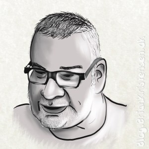 Caricatured Selfportrait - Sketch 143