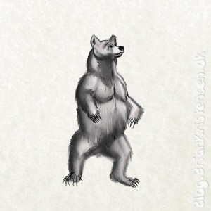 How to Draw a Standing Bear - Sketch 148