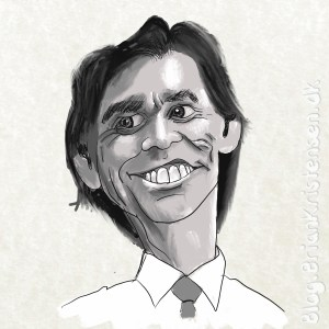 How to Draw Caricature of Jim Carrey - Sketch 174