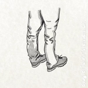 How to Draw a Pair of Jeans and Shoes - Sketch 175