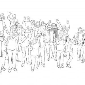 My Dear Family - Sketch 194