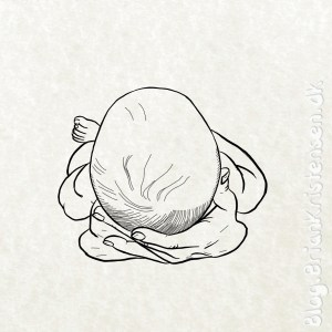 How to Draw a Baby Resting on Hands - Sketch 254