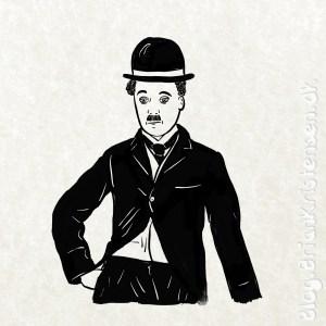 How to Draw Charlie Chaplin - Sketch 258