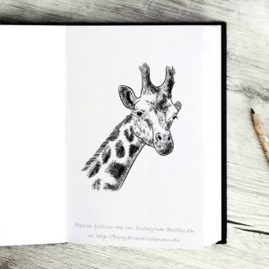 Drawing a Giraffe - Sketch 365