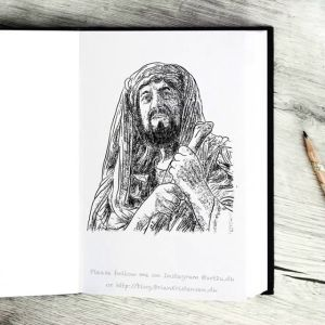 Drawing Abraham - Sketch 367