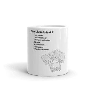 Opskrift På Varm Chokolade Drik - Sketch 460