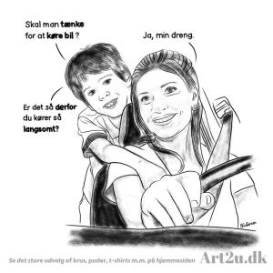 Skal Man Tænke Når Man Kører Bil? - Sketch 487