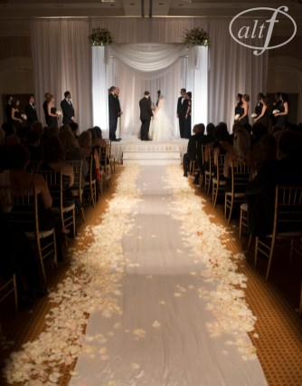 Black & White Wedding at The Four Seasons Las Vegas for Conor and Harmony