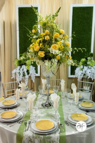 Raised Florals Design
