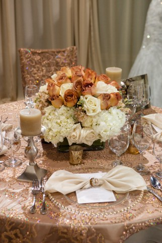 Perfect Table by Jovani Linens